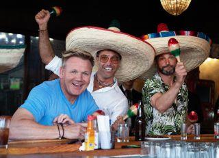 Gordon, Gino and Fred having fun in Mexico