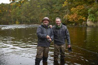 TV tonight Mortimer & Whitehouse: Gone Christmas Fishing