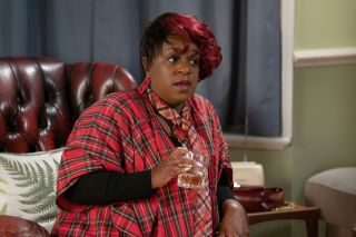 Kim encourages Denise to persue a relationship with Jack in EastEnders