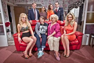 The McQueen Christmas in Hollyoaks