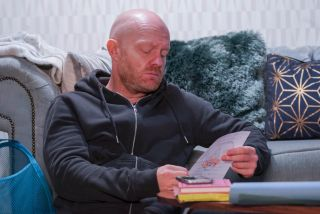Max reminisces about Abi in EastEnders