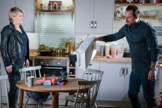 Shirley Carter and Mick Carter in EastEnders