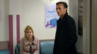 Jai and Laurel have a hospital appointment in Emmerdale