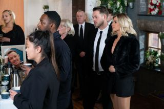 Kyle Kelly funeral in Hollyoaks