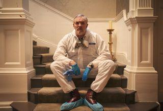 Greg Davies in BBC1 sitcom The Cleaner