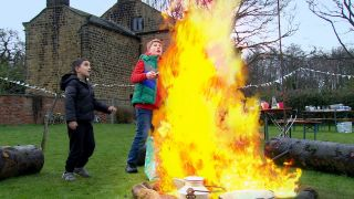 Things turn dangerous for Arthur and Archie in Emmerdale