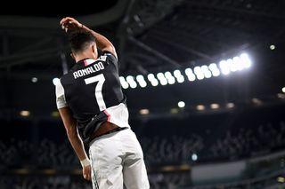 Today's football on TV - Cristiano Ronaldo celebrates
