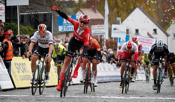 Cees Bol (Team Sunweb) wins the 2019 Nokere Koerse