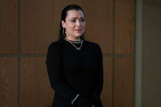 Whitney awaits the verdict in EastEnders
