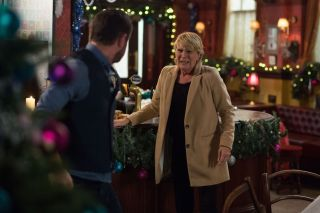 EastEnders Iconic Mick Carter and Shirley Carter