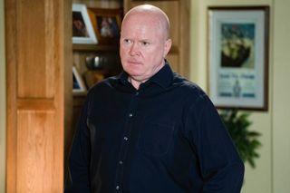 Phil is working on a plan in EastEnders