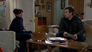 Will Cain and Moira finalise their divorce in Emmerdale