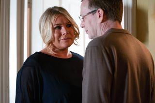 Week 3 EastEnders Thurs 6207 Sharon Watts and Ian Beale