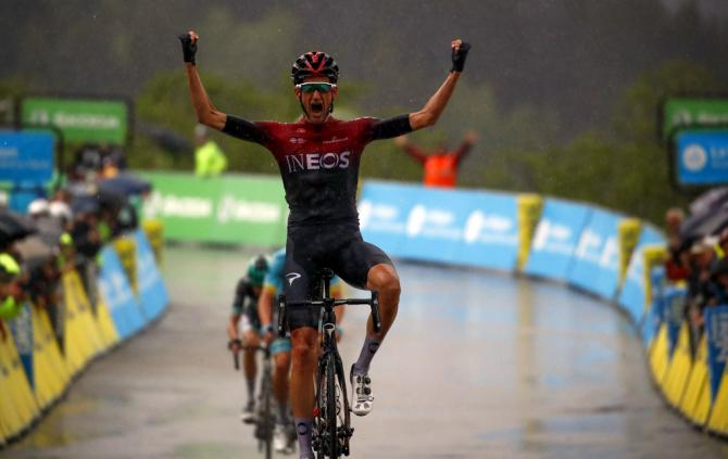 Wout Poels wins stage 7 at criterium du dauphine