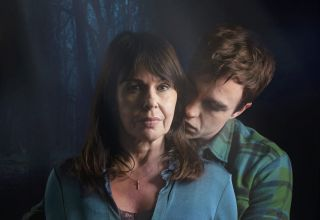 Julie Graham as Rosalie and Nico Mirallegro as Jed in Penance