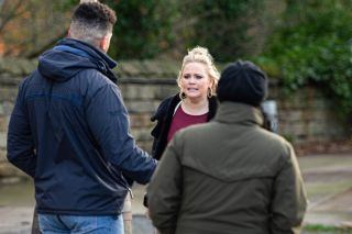 Emmerdle, Tracy Metcalfe, Nate Robinson, Moira Dingle