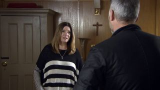 Harriet tells Malone it's over in Emmerdale