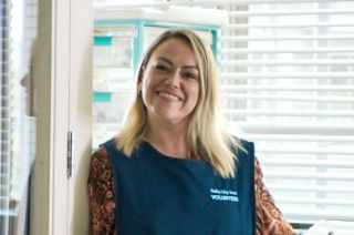 Sian Reese-Williams as Jodie Rodgers in Holby City